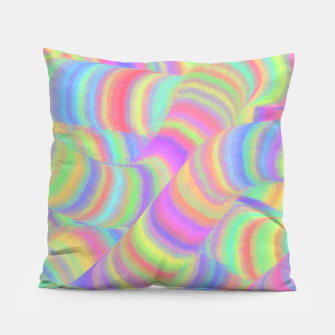 pastel worms Pillow miniature