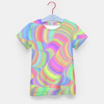 pastel worms Kid's T-shirt miniature