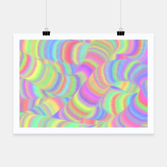 pastel worms Poster miniature