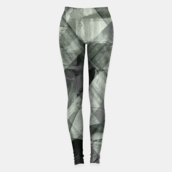 Miniaturka green pattern Leggings, Live Heroes