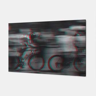 Miniatur Cycling Race Canvas, Live Heroes