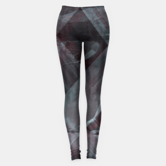 Miniaturka black pattern Leggings, Live Heroes