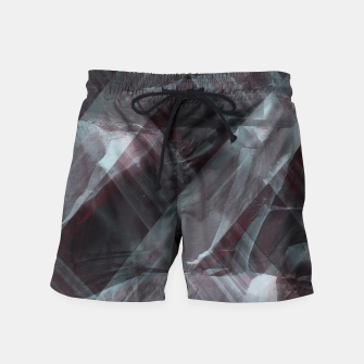 Miniaturka black pattern Swim Shorts, Live Heroes