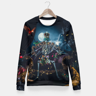 Thumbnail image of King Snakecharmer Fitted Waist Sweater, Live Heroes