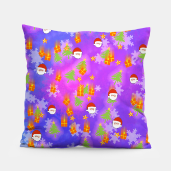 It's Snowing Christmas!! Pillow obraz miniatury