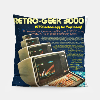 Retro Geek 3000 Pillow thumbnail image