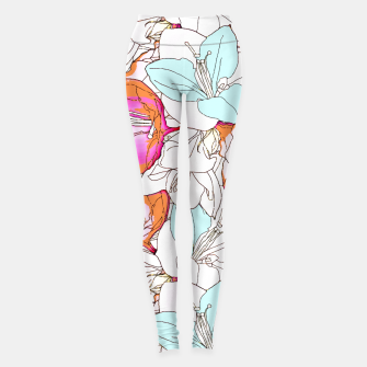 Thumbnail image of Early Bloomer Leggings, Live Heroes