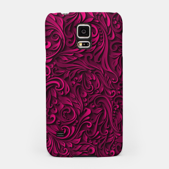 Thumbnail image of floral pattern Samsung Case, Live Heroes