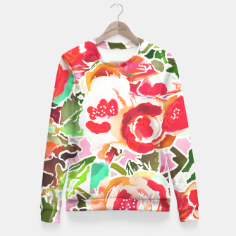 Always in Bloom Fitted Waist Sweater thumbnail image
