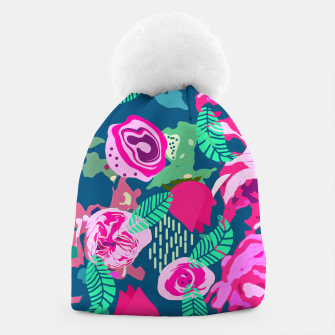 Thumbnail image of Royal Roses Beanie, Live Heroes