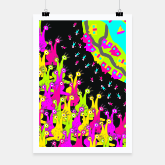 Thumbnail image of Earthlings Poster, Live Heroes