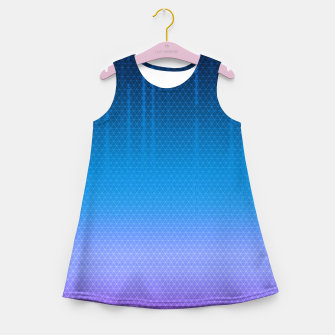 Thumbnail image of Sombra Skin Virus Pattern Girl's Summer Dress, Live Heroes