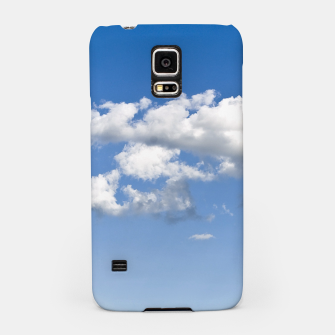 Thumbnail image of White Summer Clouds and Blue Sky Samsung Case, Live Heroes