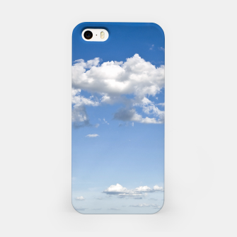 Thumbnail image of White Summer Clouds and Blue Sky iPhone Case, Live Heroes