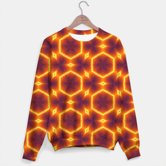 Miniaturka Vibrant Patterned Sweater for Men, Live Heroes