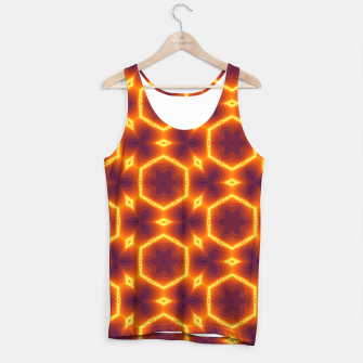 Thumbnail image of Vibrant Patterned Unisex Tank Top, Live Heroes