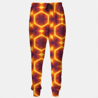 Miniatur Vibrant Patterned Sweatpants for Men, Live Heroes