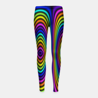 o rainbow Girl's Leggings miniature