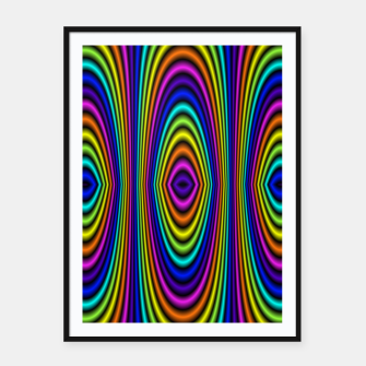 o rainbow Framed poster miniature