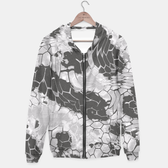 Miniatur Stone Dragon Camouflage Hoodie, Live Heroes