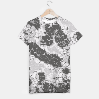 Miniatur Stone Dragon Camouflage T-shirt, Live Heroes