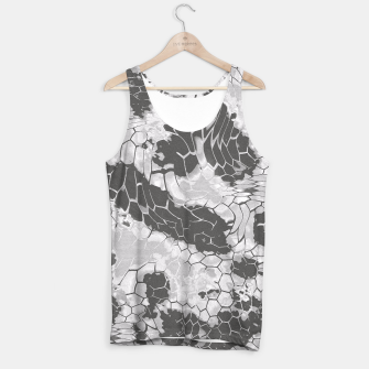 Miniatur Stone Dragon Camouflage Tank Top, Live Heroes