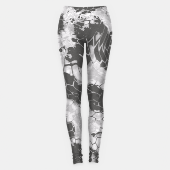 Miniatur Stone Dragon Camouflage Leggings, Live Heroes