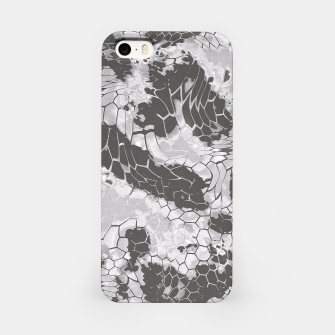 Miniatur Stone Dragon Camouflage iPhone Case, Live Heroes