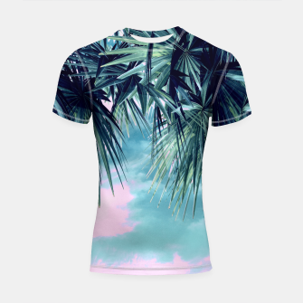 Hawaiian Sunset Shortsleeve Rashguard miniature