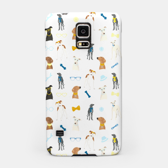 Thumbnail image of Sighthound Pattern Blue Samsung Case, Live Heroes