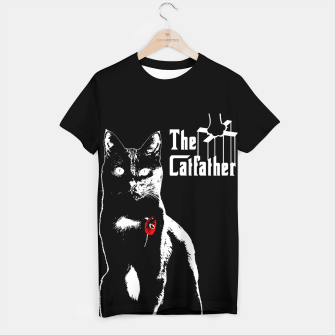 Thumbnail image of The Catfather T-Shirt, Live Heroes