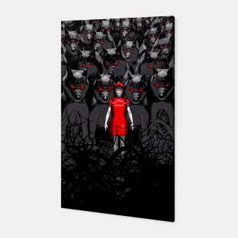 Thumbnail image of Girl N the Hood Canvas, Live Heroes