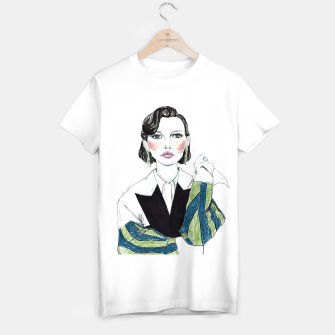 Thumbnail image of Millie Bobby Brown__Fashion Illustration T-shirt regular, Live Heroes