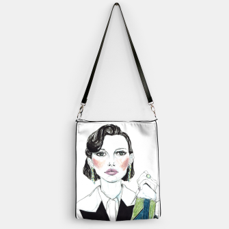 Thumbnail image of Millie Bobby Brown__Fashion Illustration Handbag, Live Heroes