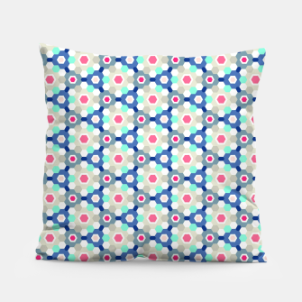 Thumbnail image of Geometric Web 01 Pillow, Live Heroes