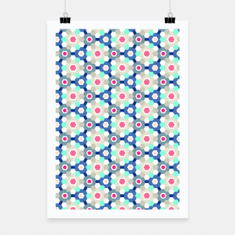 Thumbnail image of Geometric Web 01 Poster, Live Heroes
