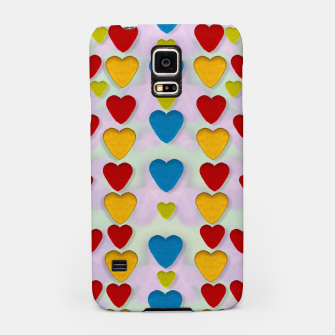 Miniatur So sweet and hearty as love can be pop art Samsung Case, Live Heroes