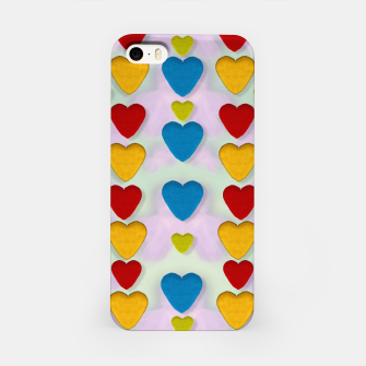 Miniatur So sweet and hearty as love can be pop art iPhone Case, Live Heroes