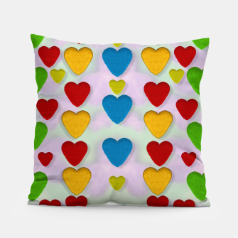 Miniatur So sweet and hearty as love can be pop art Pillow, Live Heroes