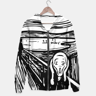 Miniature de image de The Scream by Edvard Munch Hoodie Sweatshirt, Live Heroes