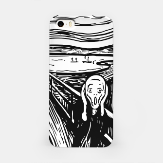 Miniature de image de The Scream by Edvard Munch Iphone Case, Live Heroes