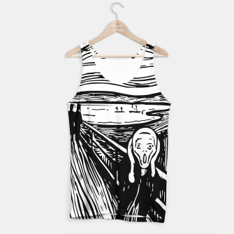 Miniature de image de The Scream by Edvard Munch Tank Top Shirt, Live Heroes