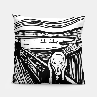 Miniature de image de The Scream by Edvard Munch Pillow Case, Live Heroes
