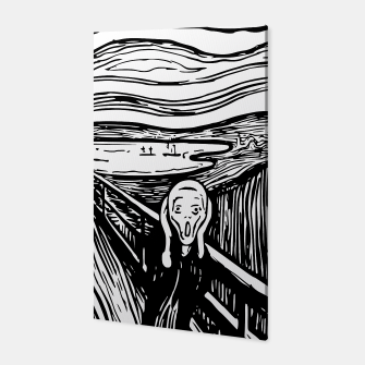 Thumbnail image of The Scream by Edvard Munch Canvas Print, Live Heroes