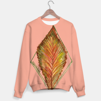 Thumbnail image of Autumn RedGreen Leaf Sweater, Live Heroes