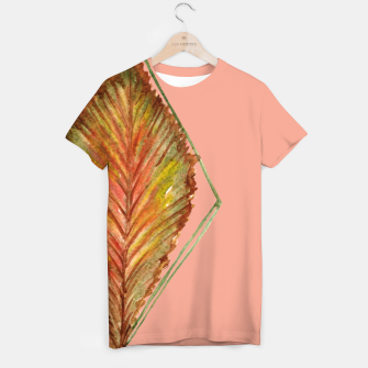 Thumbnail image of Autumn RedGreen Leaf T-shirt, Live Heroes