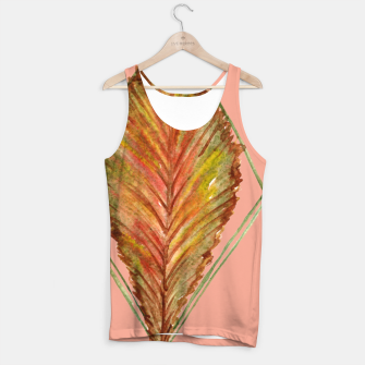 Thumbnail image of Autumn RedGreen Leaf Tank Top, Live Heroes