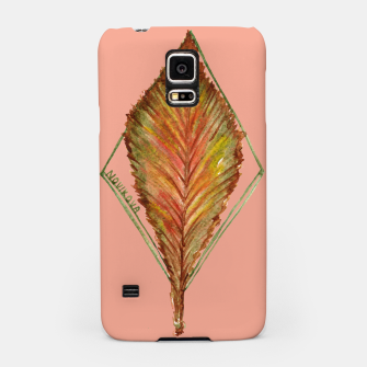 Thumbnail image of Autumn RedGreen Leaf Samsung Case, Live Heroes
