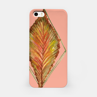 Thumbnail image of Autumn RedGreen Leaf iPhone Case, Live Heroes