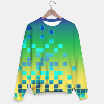Thumbnail image of Vector illustration Abstract square Sweater, Live Heroes